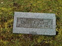 """Emma Annette """"Nettie"""" <I>Ticknor</I> Davis"""