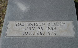 Tom Watson Braddy