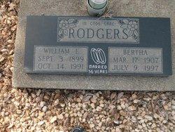 Bertha <I>Parker</I> Rodgers