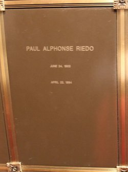 Paul Alphonse Riedo