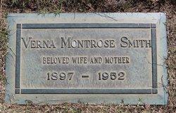 Verna <I>Montrose</I> Smith