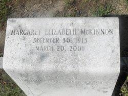 Margaret Elizabeth McKinnon