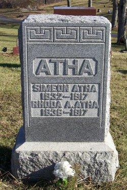 Rhoda Ann <I>Evans</I> Atha