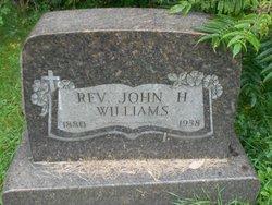 Rev John Henry Williams