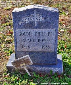 """Allie Golden """"Goldie"""" <I>Phillips</I> Bowe"""