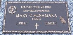 "Mary C ""Cathy"" <I>Chambers</I> McNamara"