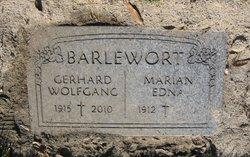 Marian Edna <I>Harney</I> Barlewort