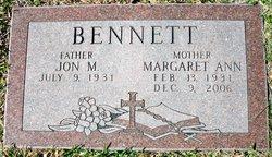 Margaret Ann <I>Herren</I> Bennett