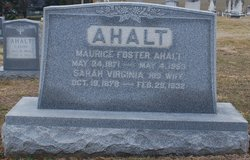 Maurice Foster Ahalt
