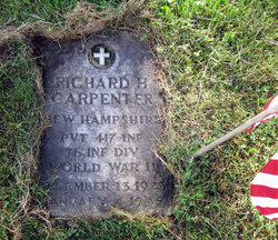 PVT Richard Harlie Carpenter
