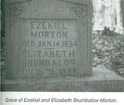 """Elizabeth """"Betsy"""" <I>Brumbalow</I> Morton"""