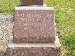 "Elise Anna Maria Christina ""Bertha"" Apffel"