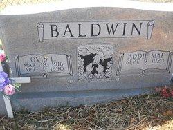 Addie May <I>Catron</I> Baldwin