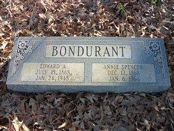 Annie Belle <I>Spencer</I> Bondurant