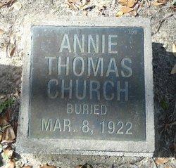 Annie Thomas <I>Kennedy</I> Church