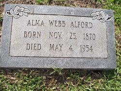 Emily Alma <I>Webb</I> Alford