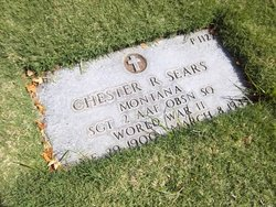 SGT Chester R Sears