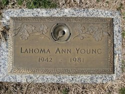 Lahoma Ann <I>Horry</I> Young