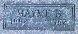 """Mary Marinda """"Mayme"""" <I>Baylis</I> Merritt"""