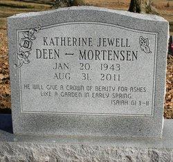 Katherine Jewell <I>Deen</I> Mortensen