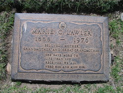 Marie Catherine <I>Hopkins</I> Lawler