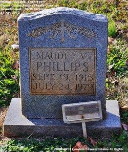 Lillie Maude <I>Vaughn</I> Phillips