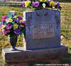 Mary Louise <I>Poole</I> Graves