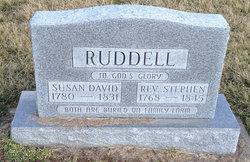 "Sarah Susannah ""Susan"" <I>David</I> Ruddell"