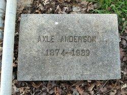 Axle Anderson