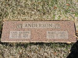Mabel <I>Davis</I> Anderson