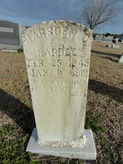 Marsden D. Hardee