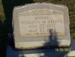 Roberta M <I>Archer</I> Atkins