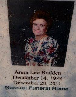 """Anna Lee """"Annie"""" <I>Geoghagan</I> Bodden"""