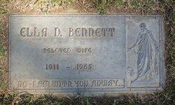 """Ellen Dora """"Ella"""" <I>Peters</I> Bennett"""