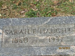 Sarah Elizabeth <I>Fryman</I> Haught