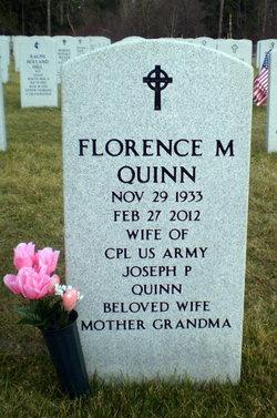 Florence <I>Gebard</I> Quinn