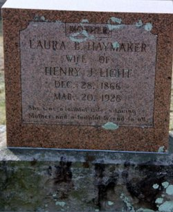 Laura Bell <I>Haymaker</I> Light