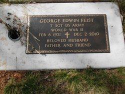 """Sgt George Edwin """"Pop"""" Feist"""