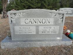 Mattie R Cannon