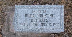 Hilda Christine Dethlefs