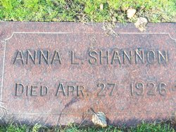 Anna L Shannon