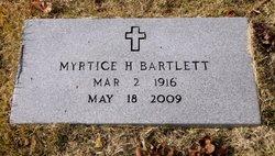 Myrtice <I>Hudson</I> Bartlett