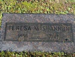 Teresa M Shannon