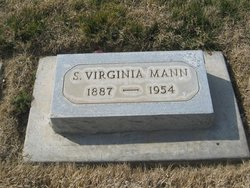 Sadie Virginia <I>Swift</I> Mann