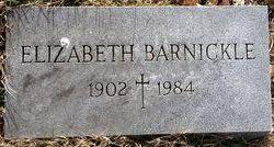Elizabeth Barnickle