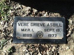 Vere Grieve Asbill