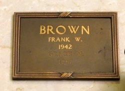 Frank W Brown