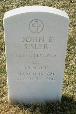 John E Sisler