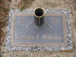 Dr Kenneth Edward Aldridge