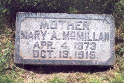 Mary Alice <I>Harmon</I> McMillan